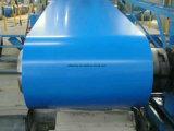 Bobines enduites d'une première couche de peinture, bobine en acier de PPGI, bobine en acier galvanisée enduite d'une première couche de peinture pour la toiture