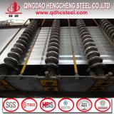 Feuille en acier ondulée galvanisée de toiture d'IMMERSION chaude
