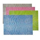 Sprung-Farben-Gewebe Placemat für Tischplatte u. Bodenbelag