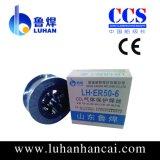 Material-fester Draht des Schweißens-Er70s-6 (Plastikspule)