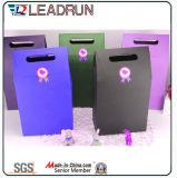 Papier découpé en gris Papier en carton Papier revêtu Papier ondulé Papier personnalisé Sac d'emballage Sac à main (F91)