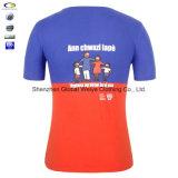 T-shirt ordinaire Two-Tone de couleur