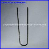 Тип штапель металла u верхнего качества SOD ногтя дерновины от Китая