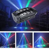 Lumière principale mobile de l'araignée LED de RGBW mini