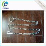 Catene saldate galvanizzate elettriche dell'animale del ferro