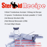 ステロイドのTren-a 100mg/Ml半仕上げの注射可能な液体のTrenboloneのアセテート100mg/Ml Trenのエース