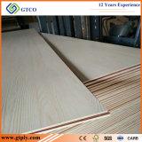 Cara de la melamina de la base de /Poplar del pegamento E0 y madera contrachapada comercial laminada parte posterior para de interior