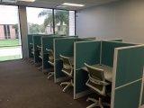 Divisória de trabalho personalizada da mesa do escritório de projeto (FOH-42CT)