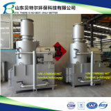 産業固形廃棄物の非常に熱い焼却炉、10-500kgs/Time不用な焼却炉