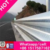 Rigide en acier anti-collision Barrière d'ondes pour W Beam Used for Highway, Flexible Hot DIP galvanisé