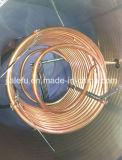Calentador de agua solar de cobre precalentamiento del intercambio de calor de la bobina con el tanque auxiliar