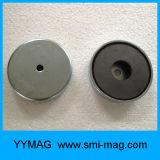 Aimant en céramique composé de cuvette de bac magnétique de ferrite