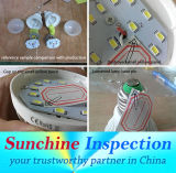 조경 램프 빛 품질 관리/마지막 검사