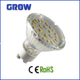 projecteur chaud en verre SMD DEL de ventes de 5W GU10