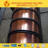 Collegare di saldatura solido di MIG 15kg/Spool del prodotto Er50-6 0.8mm della saldatura per saldatura