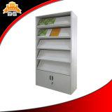 Support d'étagère de magasin en métal d'utilisation de bibliothèque d'école