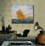 Peinture de mur de bateau de navigation