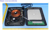 Печка Cooktops индукции плитаа электрической индукции кнопка утверждения Ailipu 110V ETL электрическая