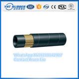 Il tubo flessibile di gomma del singolo del collegare tubo flessibile idraulico della treccia raschia il tipo