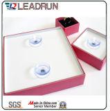Vakje van de Oorring van de Rechthoek van het Karton van het Vakje van de Verpakking van de Opslag van de Juwelen van de Gift van de Juwelen van het document het Houten (Ysn1)