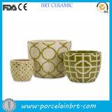Крытый/напольный бак плантатора сада травы/семени Ceramic/Terracotta Modern/Decorative/Concrete Large/Small Wall/Hanging/Corner/Balcony