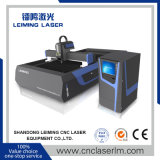 Máquina de estaca do laser da fibra do metal Lm3015g3 com única tabela