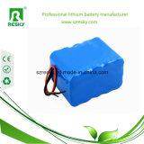 18650 4s2p 14.8V 5200mAh Li-Ionbatterie-Satz für medizinisches Instrument