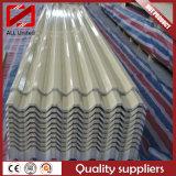 Chapa de aço da telhadura ondulada de alumínio para o telhado (1100/8011)