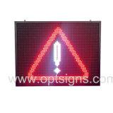 옥외 En12966 도로 속도 LED 소통량 경고 표시