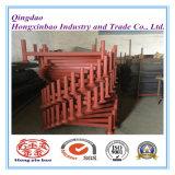 Prateleiras de empilhamento destacáveis do armazenamento de cremalheira do metal do uso do armazém