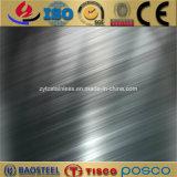 Titanium золотистая отделка 201 волосяного покрова лист нержавеющей стали 304 316 в штоке