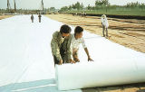 Polyester-nicht gesponnenes geotechnisches Gewebe