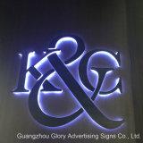Signo de la letra LED del acero inoxidable LED retroiluminada por LED de iluminación