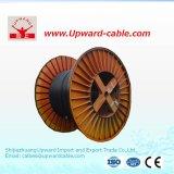 Câbles électriques du conducteur 3*400 de cuivre à haute tension