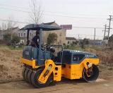 道のコンパクター6トンの油圧タイヤによって結合される道のコンパクター(JM206H)