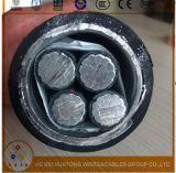 Torneira Matel-Folheada 600V blindado da liga de alumínio do cabo do UL