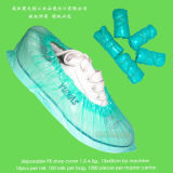 Cubierta desechable del zapato del PE
