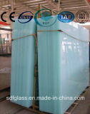 Ясное Float+Milky White PVB+Clear Float Laminated Glass с ISO CE