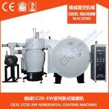 Máquina de capa Dual-Gate de la joyería CZ-1000/planta de oro del color del equipo/de la evaporación de la capa que croma