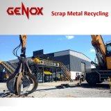 De Schroot van Guangzhou de Ontvezelmachine van de Ontvezelmachine van het Recycling/Twee Schacht