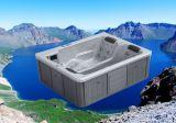Mini vasca da bagno acrilica pura di lusso di massaggio