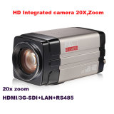 学校教育、裁判所HDはリモートのために出力されたHDSdi IPが付いているカメラ20XのズームレンズをHDMI統合した