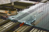 verre trempé Tempered de 8mm avec le perçage de trou