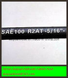 Boyau en caoutchouc hydraulique flexible de pétrole du boyau SAE100r2-08 à haute pression