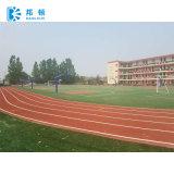 Synthetic composto de 13mm/trilha Running plástica para o campo de esportes, locais de encontro