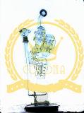 Tubi di acqua di fumo dell'uovo del riciclatore del portacenere del mestiere di vetro di Handblown Pyrex del cranio di colore rosa dell'impianto offshore di vetro viola alto favoloso della LIMANDA per tabacco