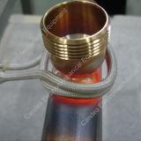 Projeto personalizado industrial da serpentina de aquecimento de indução elétrica dos eixos de cames dos eixos
