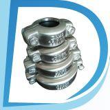Штуцер трубы струбцины разъема соединения нержавеющей стали 3 дюймов гибкий резиновый половинный