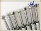 Pneumatischer Edelstahl-Gasdruckdämpfer mit quadratischen Verbindern für Boots-Tür