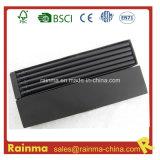 Черный деревянный карандаш 12 PCS в черной упаковке бумажной коробки
